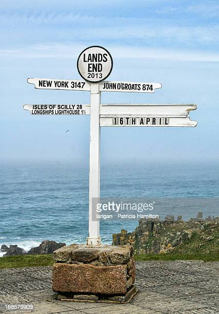 The famous signpost, Land's End