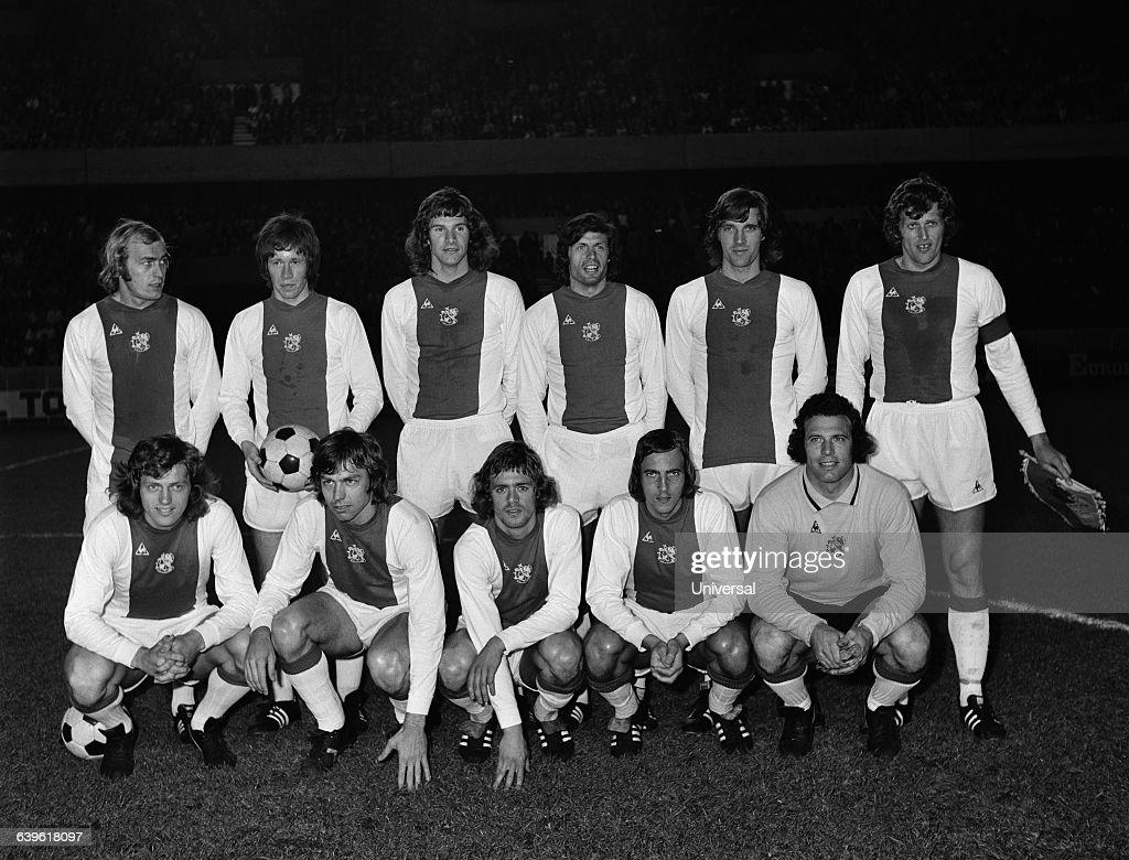 Soccer Ajax Amsterdam 1974