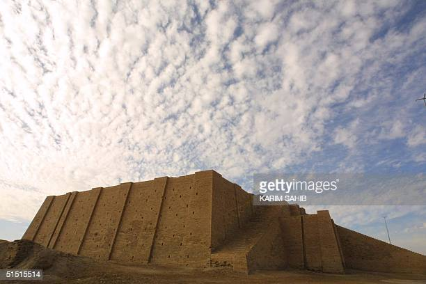 The famous Ziggurat a threetiered edifice dating back to 2113 BC stands more than 17 meters high in the ancient city of Ur 15 January 2002 in...