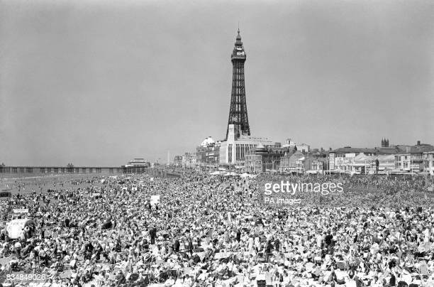 The fantastic summer brings out the crowds at Blackpool