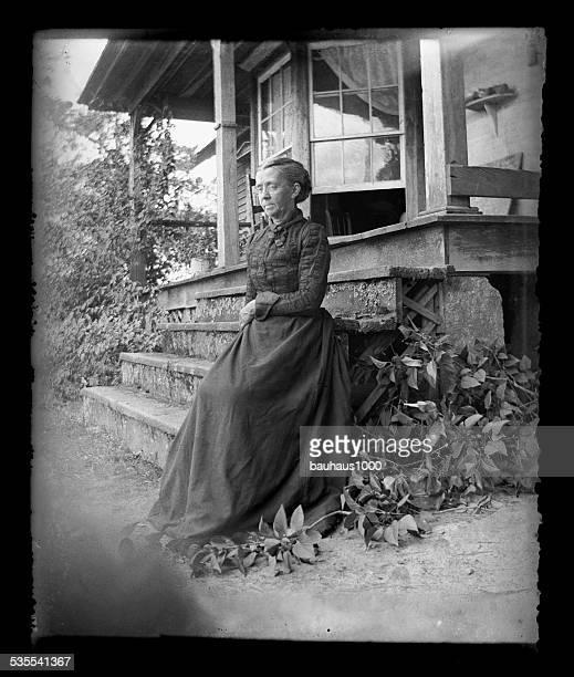 Die Farmer's Frau, ca. 1890