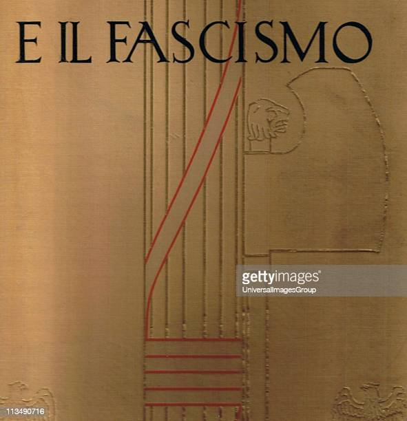 The Fasces an axe tied to a bundle of sticks the symbol of Ancient Roman magistrates which was adopted as their emblem by the Fascists in the 20th...
