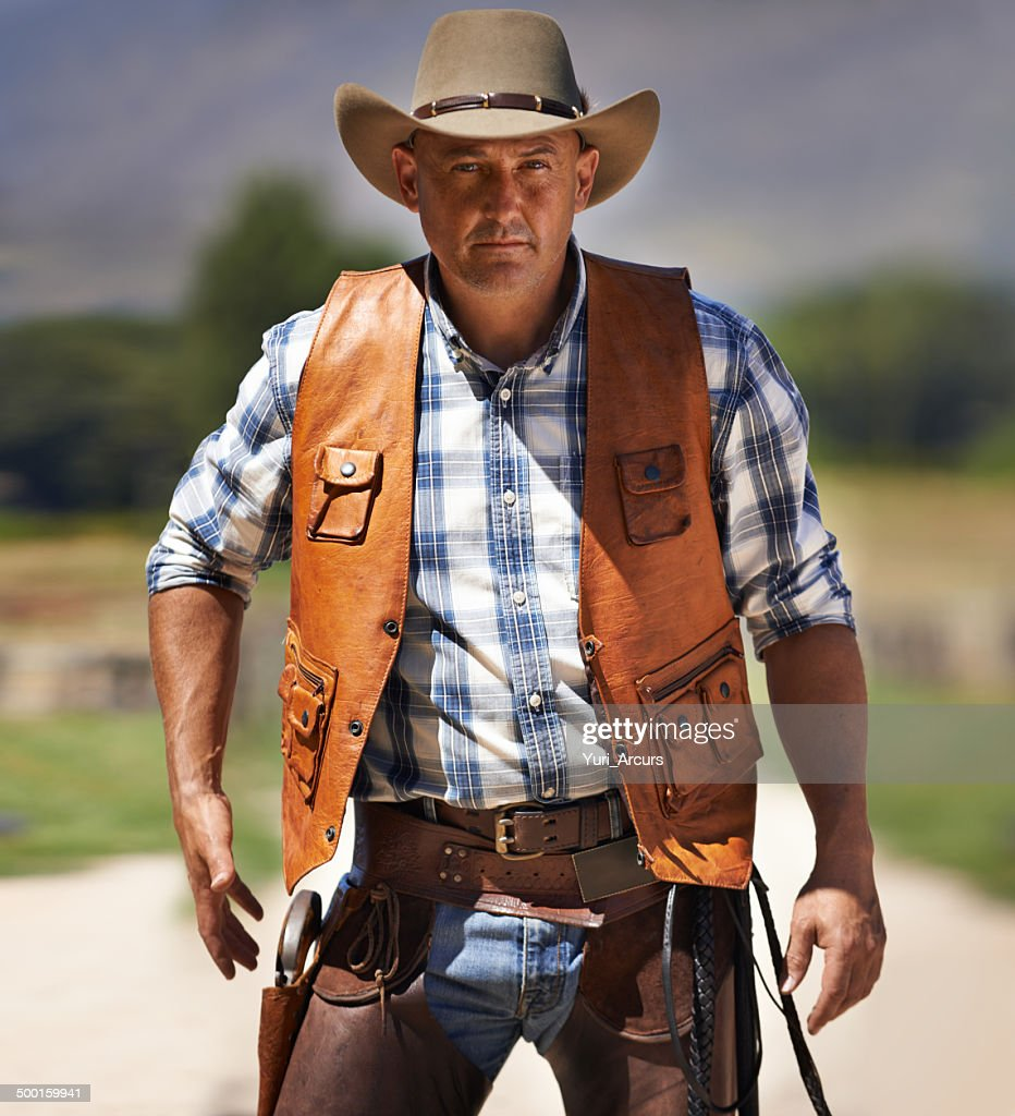 The fastest gun in the West : Stock Photo