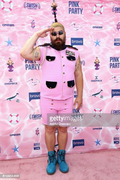 The Fat Jew attends The PINK PARTY presented by SWISH at Pier 81 on July 8 2017 in New York City