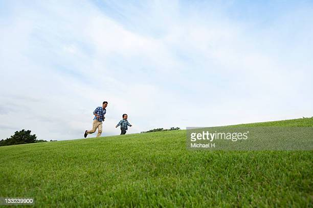 The father and child who run a prairie