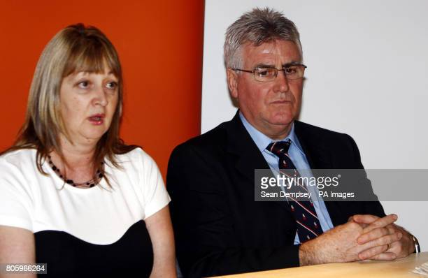 The father and stepmother of former soldier Danny Fitzsimons of Middleton Greater Manchester who is facing the death penalty in Iraq over the killing...