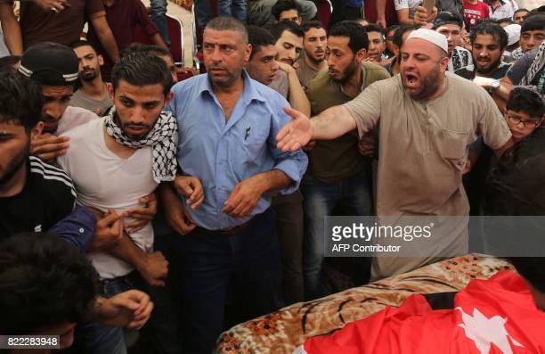 The father of 17yearold Mohammed Jawawdeh who was killed on the weekend when he attacked a security guard at the Israeli embassy compound in the...