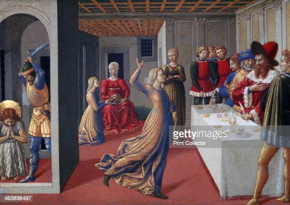 'The Feast of Herod and the Beheading of Saint John the Baptist' 14611462 From the collection of the National Gallery of Art Washington DC USA