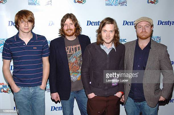 The Features during Live It Loud with Dentyne Presents The Walkmen and Ben Kweller to Benefit the VH1 Save the Music Foundation at Irving Plaza in...