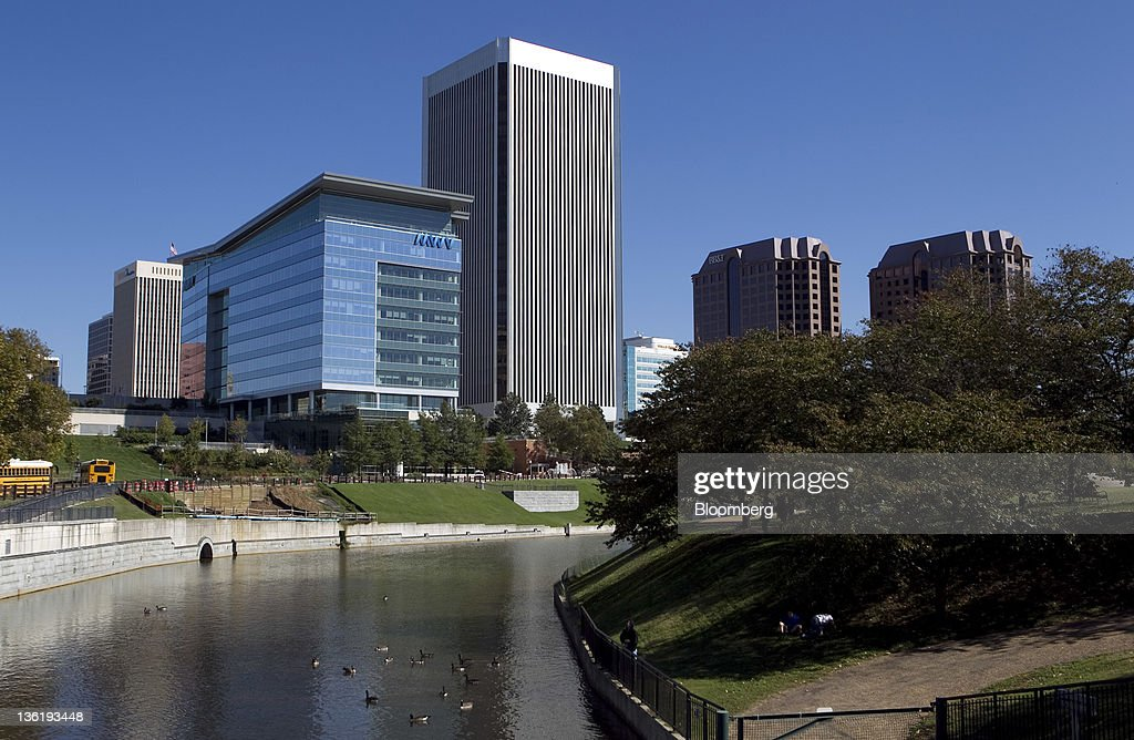 The Federal Reserve Bank of Richmond headquarters stands in Richmond, Virginia, U.S., on Friday, Oct. 21, 2011. Manufacturing activity in the central Atlantic region firmed somewhat after stabilizing in November, according to the Richmond Fed's latest survey. Photographer: Andrew Harrer/Bloomberg via Getty Images