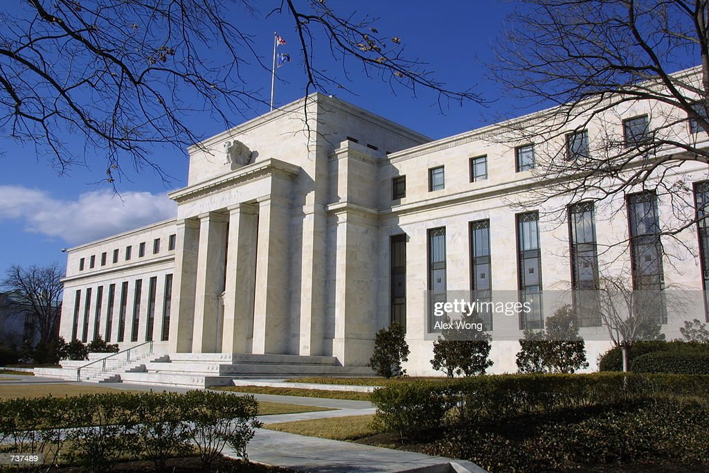The Federal Reserve Board building is seen January 31 2001 in Washington D C The Federal Reserve decided Wednesday to lower rates for the second time...