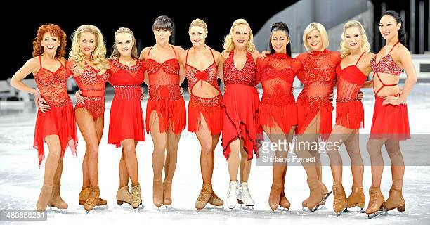 The female cast including Bonnie Langford and Jayne Torvill attend a photocall to launch the final tour of Torvill Dean's Dancing On Ice at Phones 4...
