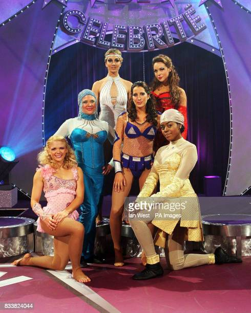 The female celebrity's taking part in this years Cirque de Celebrite Lady Isabella Hervey and Emily Scott Hannah Waterman and Princess Tamara Stacy...