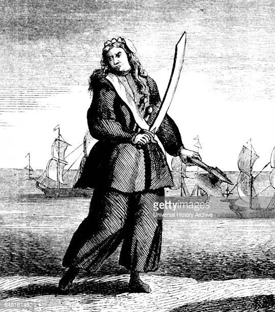 The female Pirates Mary Read and Anne Bonny From a print originally published in 1720 Mary Read also known as Mark Read was an English pirate She and...