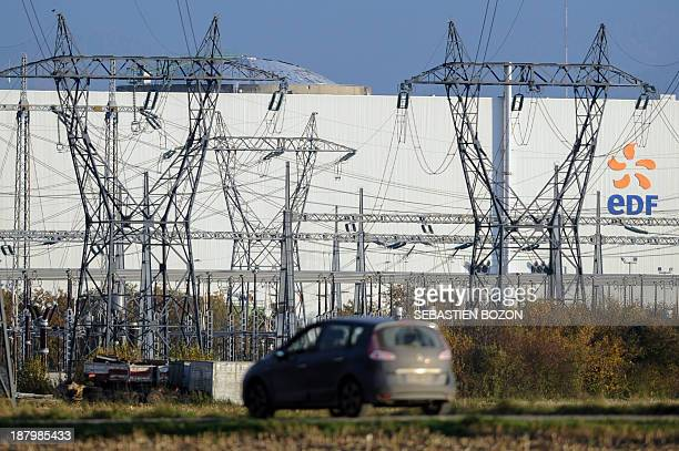 The Fessenheim nuclear powerplant is pictured during a nuclear accident simulation on November 14 in Fessenheim AFP PHOTO / SEBASTIEN BOZON
