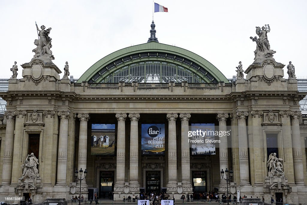 The FIAC International Contemporary Art Fair is held at the Grand Palais on October 25, 2013 in Paris, France. This is the 40th anniversary edition of