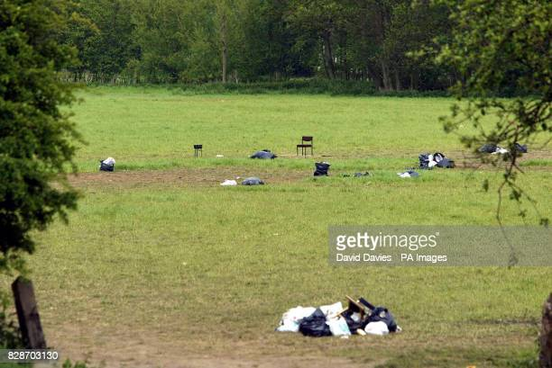 The field site of this weekends rave just outside Leominster in Herefordshire At least 20 organisers of the huge illegal bank holiday rave have been...