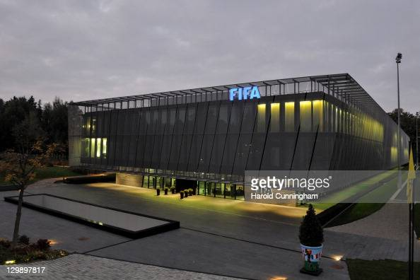 The FIFA headquarters are seen after the FIFA Executive Committee Meeting on October 21 2011 in Zurich Switzerland During this third meeting of the...