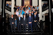 The FIFA/UEFA Conference for National Coaches and Technical Directors 2014 FIFA World Cup Brazil on September 16 2014 in St Petersburg Russia