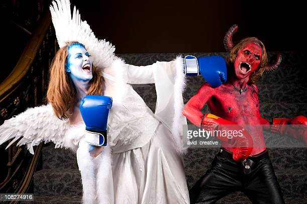 The Fight Between Good and Evil