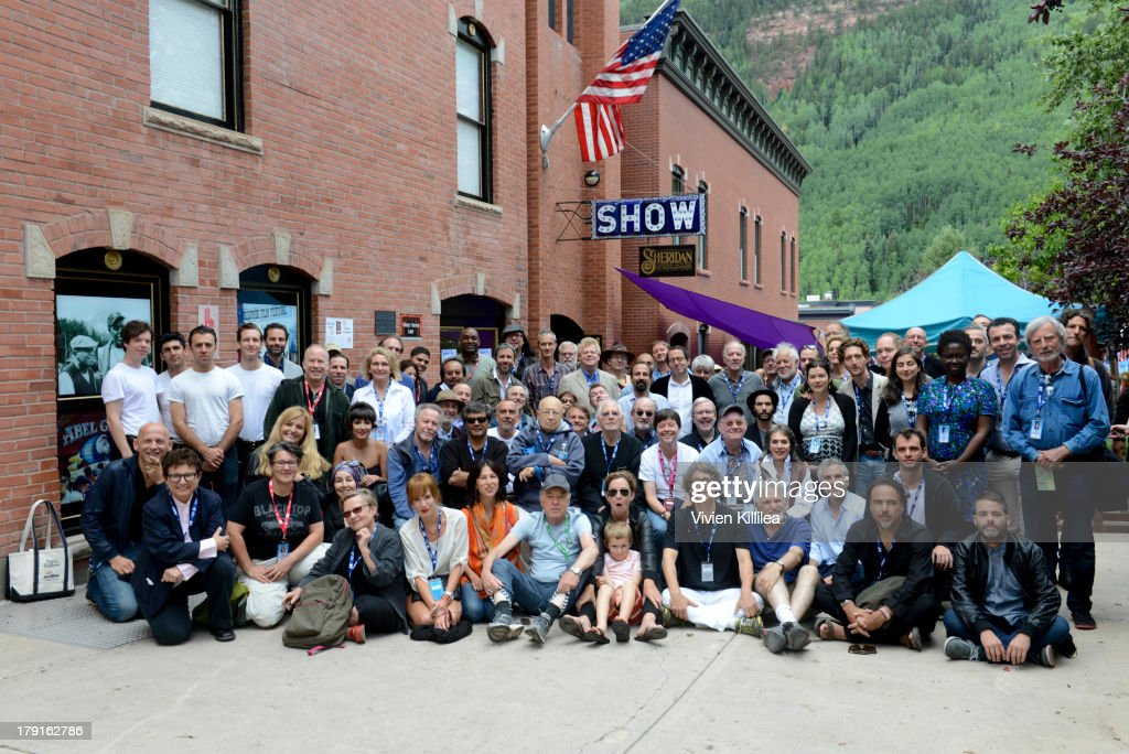 The filmmakers pose for a photo at the 2013 Telluride Film Festival - Day 3 on August 31, 2013 in Telluride, Colorado.
