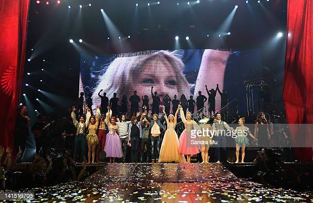 The final bow at Taylor Swifts 111th show on her Speak Now World Tour at Vector Arena on March 18 2012 in Auckland New Zealand