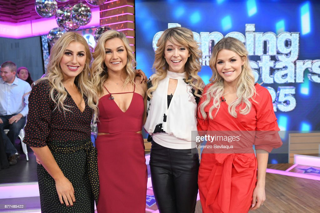 AMERICA - The final four couples of Dancing with the Stars are guests and 98 Degrees perform live on 'Good Morning America,' Wednesday, November 22, 2017 on the ABC Television Network. EMMA