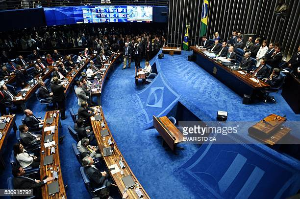 The final score of a Senate vote with an overwhelming 5522 on suspending Brasilian President Dilma Rousseff and launching an impeachment trial is...
