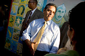 The final weekend of campaigning at Farmers Market at 3rd and Fairfax for Los Angeles City Councilman Antonio Villaraigosa He is running for Mayor of...