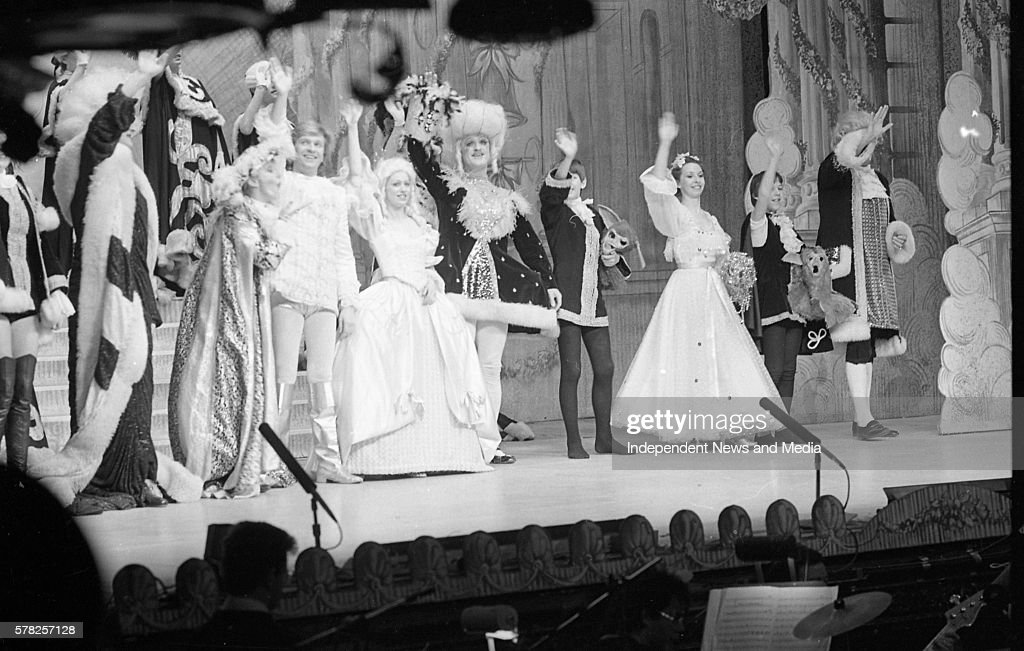 The Finale of Cinderella Pantomime at the Olympia Theatre in Dublin