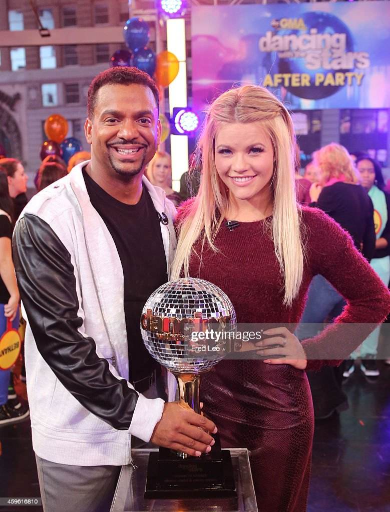 AMERICA - The finalists and winners of this season's 'Dancing With The Stars' join the After Party at GOOD MORNING AMERICA, 11/26/14, airing on the ABC Television Network. (Photo by Fred Lee/ABC via Getty Images) WINNERS, ALFONSO
