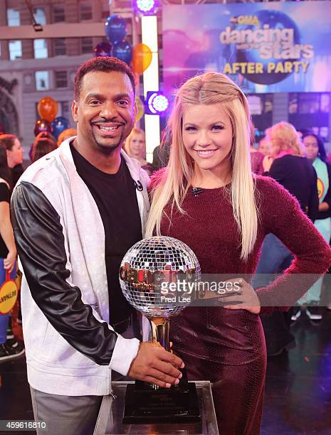 AMERICA The finalists and winners of this season's 'Dancing With The Stars' join the After Party at GOOD MORNING AMERICA 11/26/14 airing on the ABC...