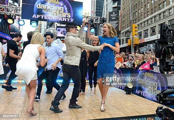 AMERICA The finalists from 'Dancing With the Stars' continue to party on GOOD MORNING AMERICA 5/21/14 airing on the ABC Television Network