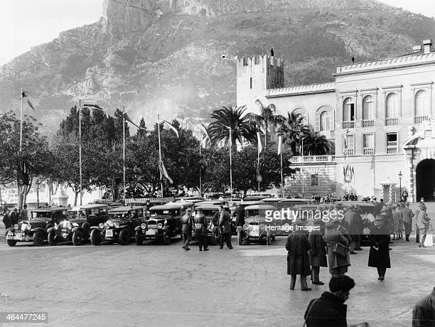 The Finish of the Monte Carlo Rally 1929