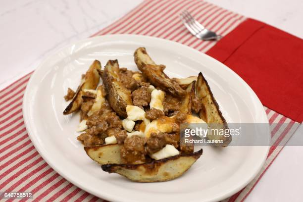 TORONTO ON JANUARY 26 The finished ground beef poutine Well know Montreal Chef Ricardo was in the Star test kitchen to make a homemade poutine with...