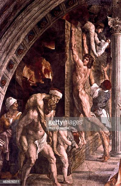 'The Fire in the Borgo' 1514 This fresco in the Vatican depicts a fire which broke out in the Borgo in Rome in 847 The blaze is said to have been...