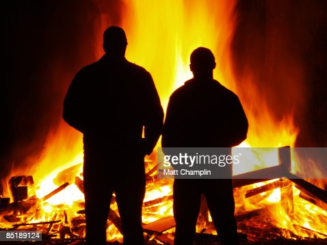 The Firemen : Stock Photo