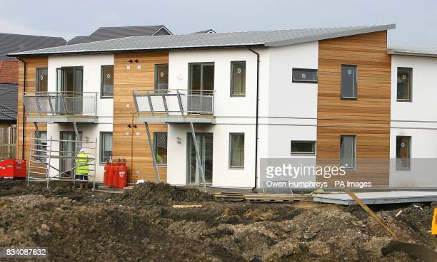 The first affordable flat pack housing the BoKlok house by Ikea was today unveiled at Gateshead the new houses are to help first time buyers into the...