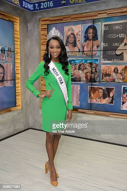 AMERICA The first American soldier Army Reserve officer Deshauna Barber who was crowned Miss USA 2016 appears on GOOD MORNING AMERICA 6/7/16 airing...