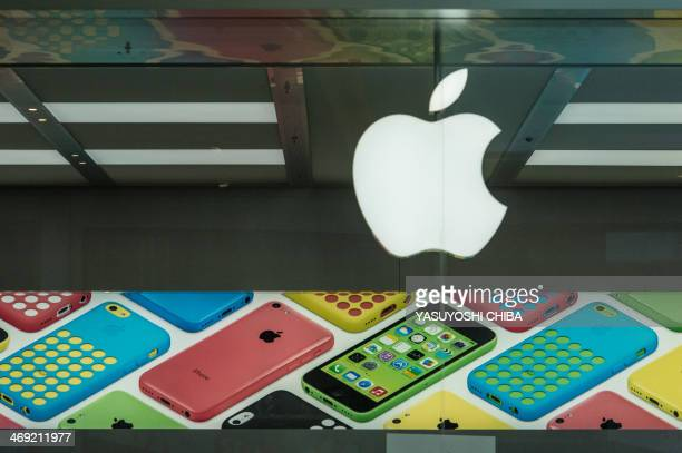 The first Apple Store in Brazil is shown to the media before its official opening scheduled February 15 in the Village Mall shopping mall in Barra da...