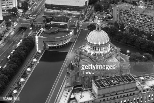 The First Church of Christ Scientist in Christian Science Plaza : Stockfoto