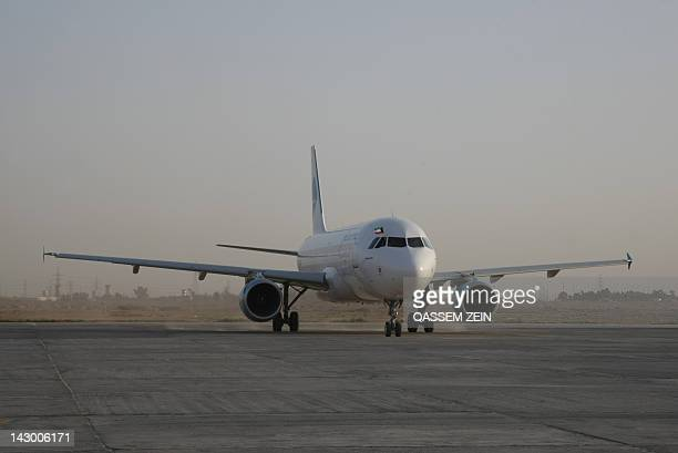 The first commercial flight from Kuwait to Iraq in 22years since the flight path was stopped in the wake of the invasion of the Emirates by Saddam...