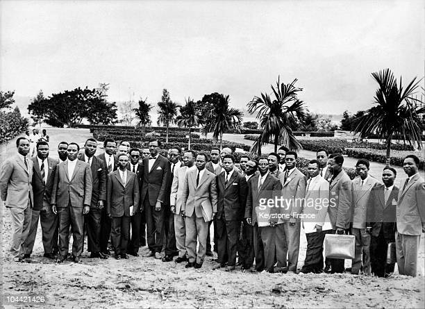 The First Congolese Government With Patrice Lumumba In 1960