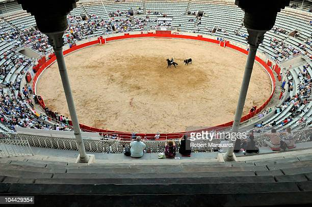 The first day of the Feria de la Libertad Merce 2010 at the Monumental bullring on September 24 2010 in Barcelona Spain