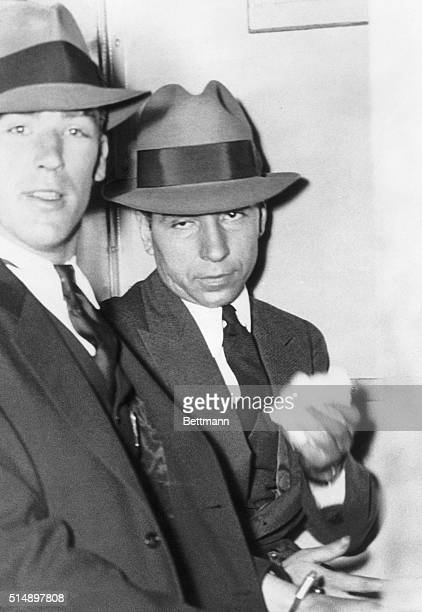 The first day of the trial of Charles 'Lucky' Luciano and 10 of his alleged Lieutenants accused with him of operating New York's vast vice ring ended...