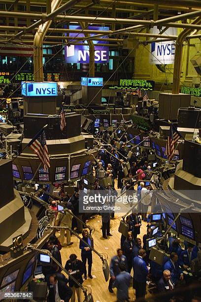 The first day of trading on the New York Stock Exchange using the decimal system for stock quotes after switching over from fractions