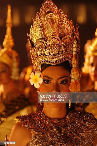 The First Ever Splendid Show At Angkor Wat 'The Legend Of Angkor Wat When History Comes To Life' In Angkor Cambodia In November 2007 The Ministry of...
