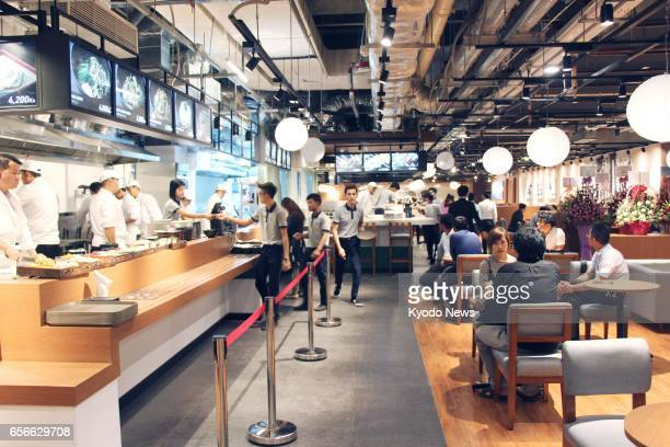 The first Japanese food court in Myanmar is launched on March 22 in Yangon The six restaurants serving dishes including sushi and udon noodles are...