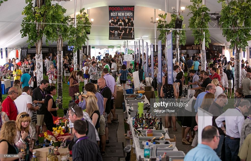 The first of several Aspen Food Wine Classic Grand Tastings gets underway on June 14 in Aspen Colorado The 31st Annual Food Wine Classic brings...