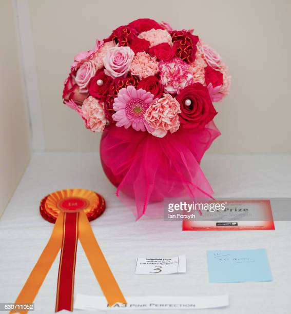 The first prize winning display during one of the horticultural events is shown during the 194th Sedgefield Show on August 12 2017 in Sedgefield...